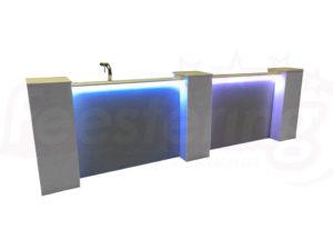 bar met led verlichting
