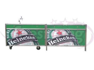 Heineken bar compleet