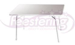 terrastafel rechthoekig wit